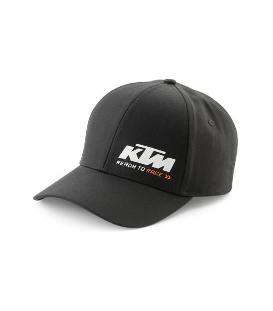 Gorra Racing negra KTM