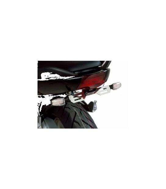 Soporte Matricula Puig Kawasaki ER6N/F Acero Inoxidable