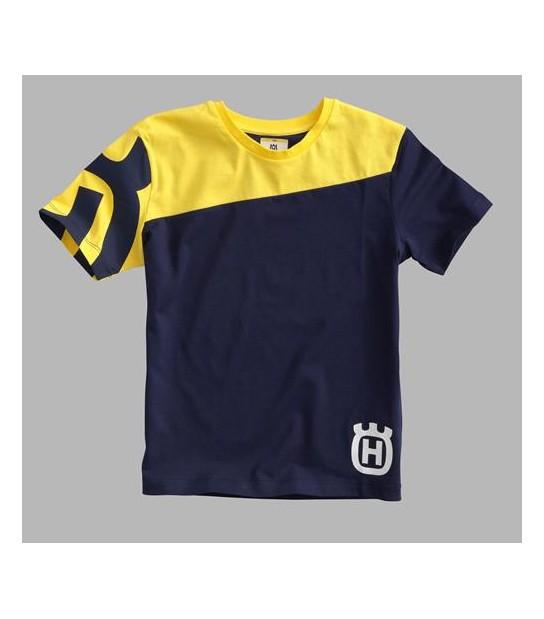 Camiseta Niño Inventor Tee Amarilla Husqvarna