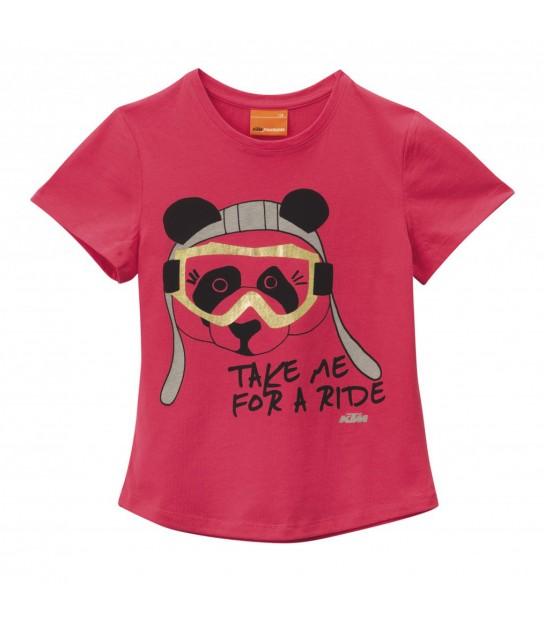 Camiseta Panda Tee Niños 104 / XXS