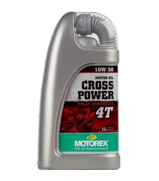 ACEITE MOTOREX CROSS POWER 10W50 4T BOTELLA 1L