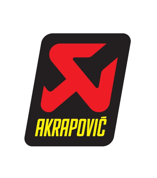 ADHESIVO AKRAPOVIC 60X75 MM