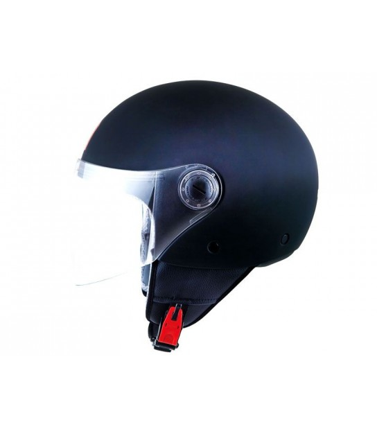 CASCO MT OF501 STREET SOLID NEGRO MATE