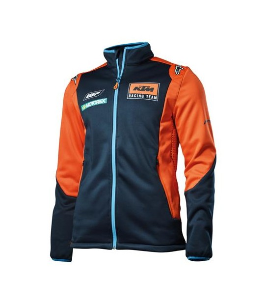 CHAQUETA REPLICA TEAM SOFTSHELL KTM