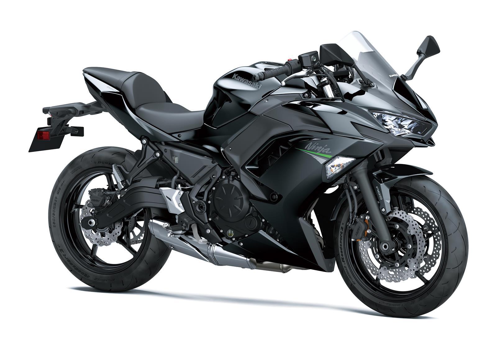 Ninja 650 2020 Negro brillo