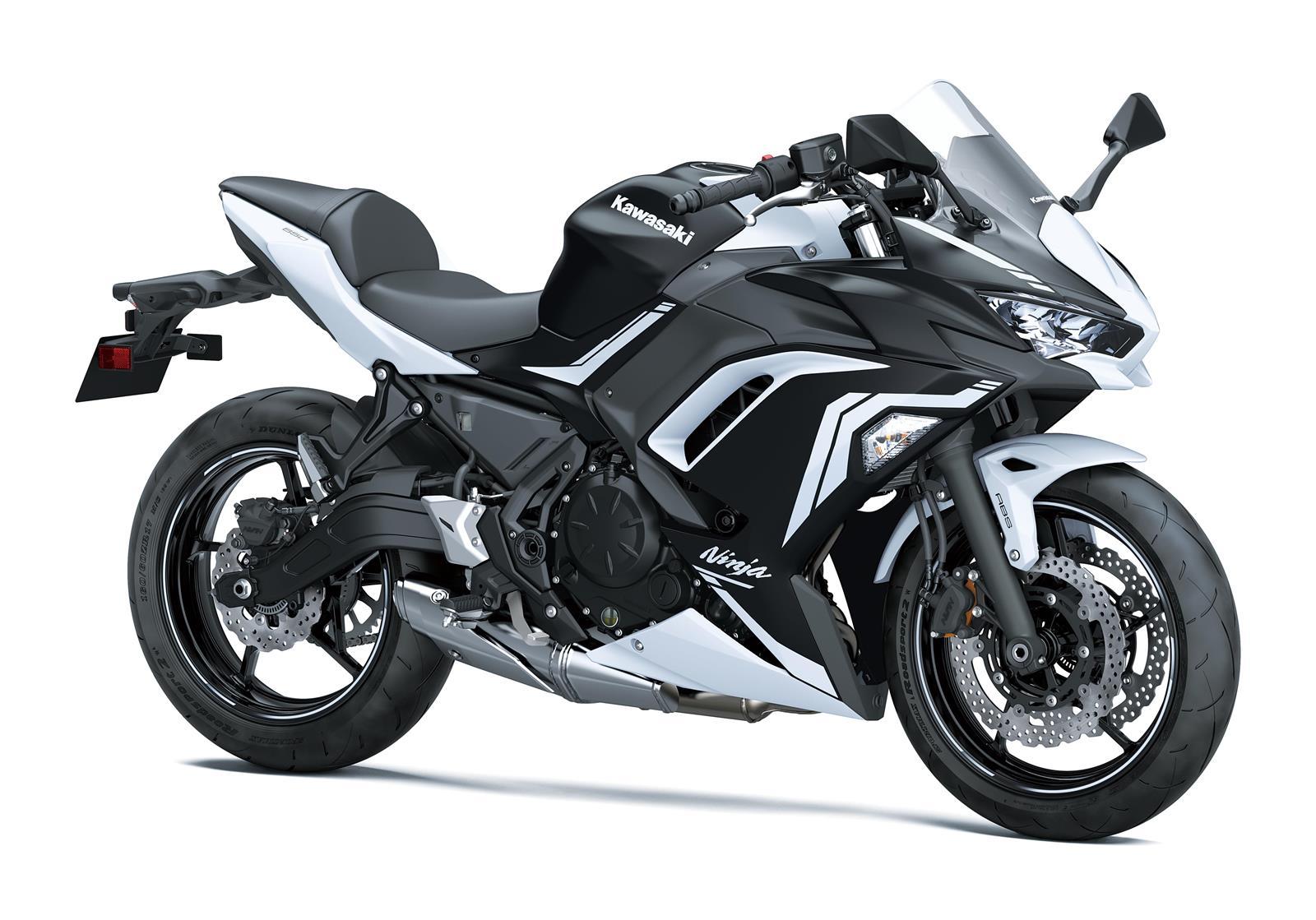 Ninja 650 2020 Blanco-Negro mate
