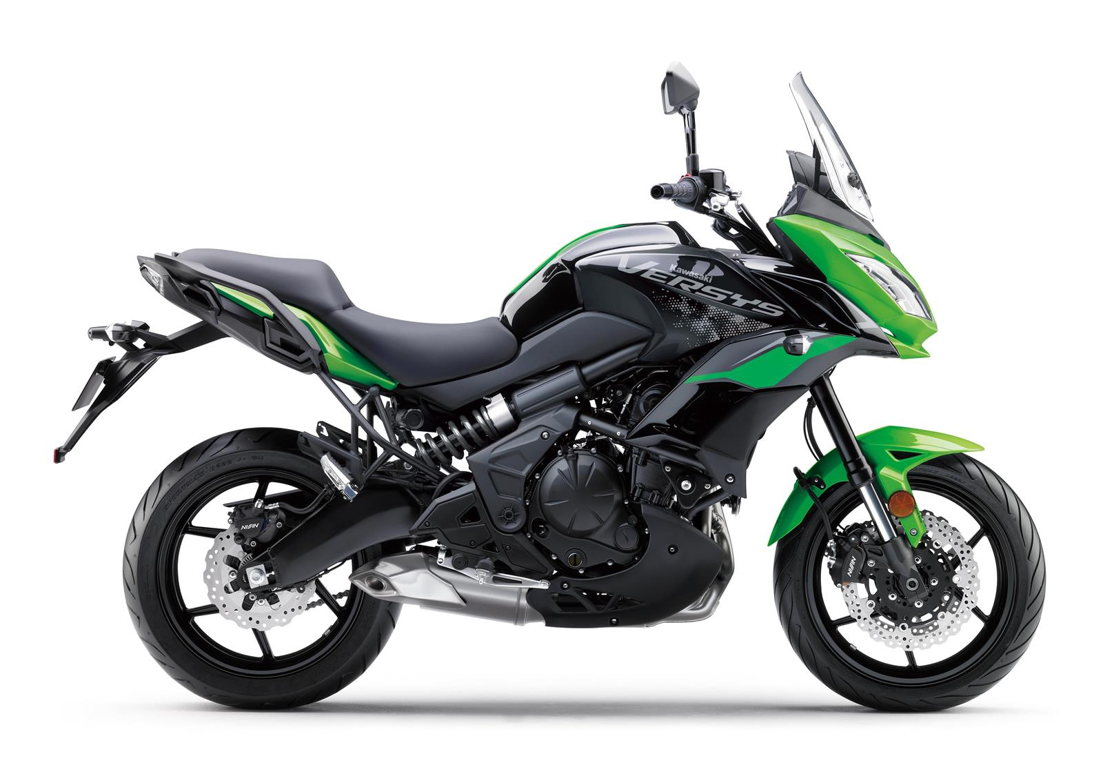 Versys 650 color Candy Lime Green