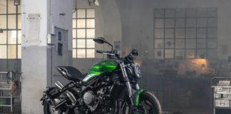 Benelli 752 S verde Jademotor