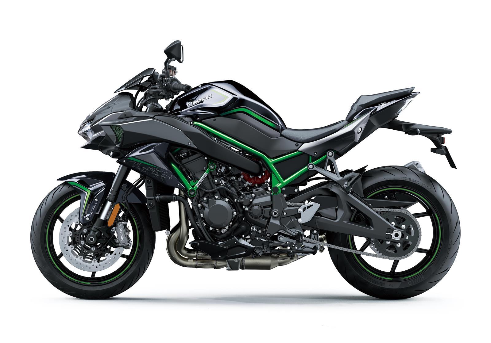 Negro chasis verde