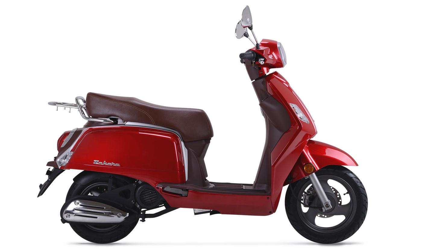 Keeway Zahara 125 color rojo