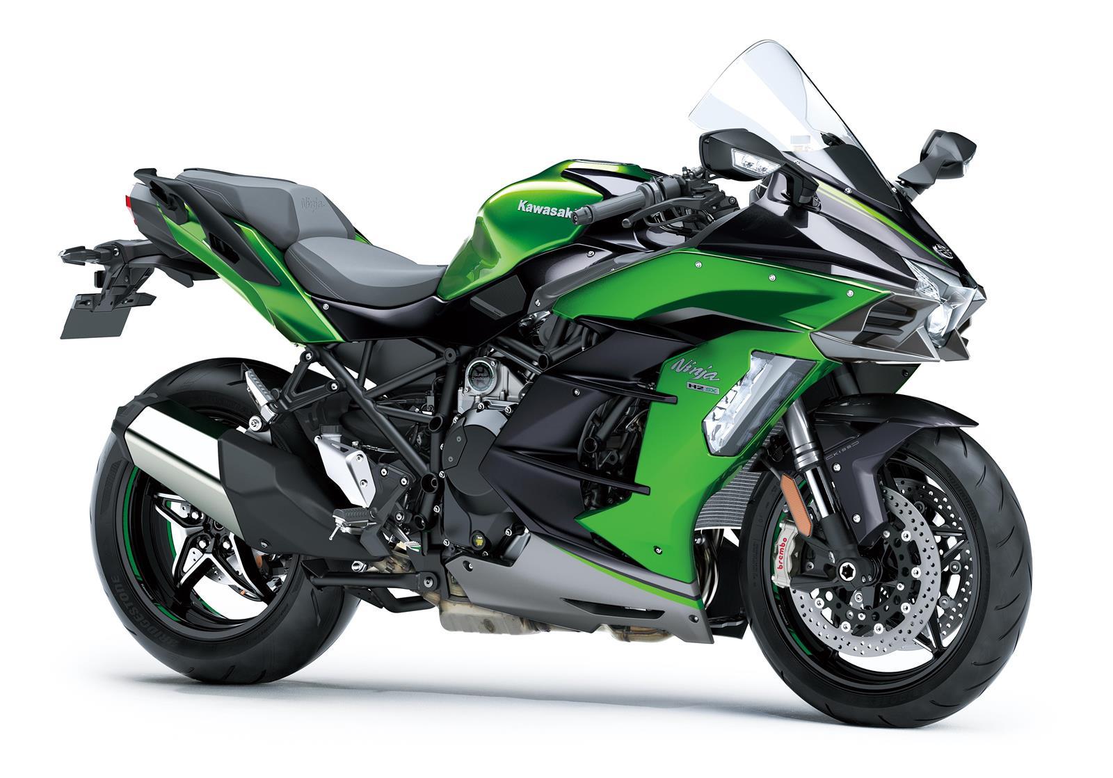 Kawasaki Ninja H2 SX SE con Compresor