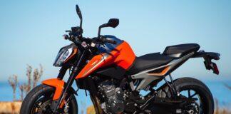 KTM 790 Duke Naranja