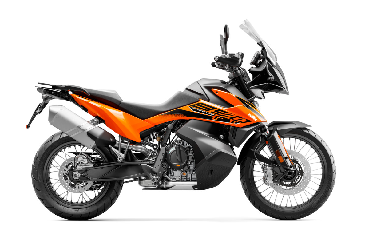 KTM 890 Adventure 2021 naranja